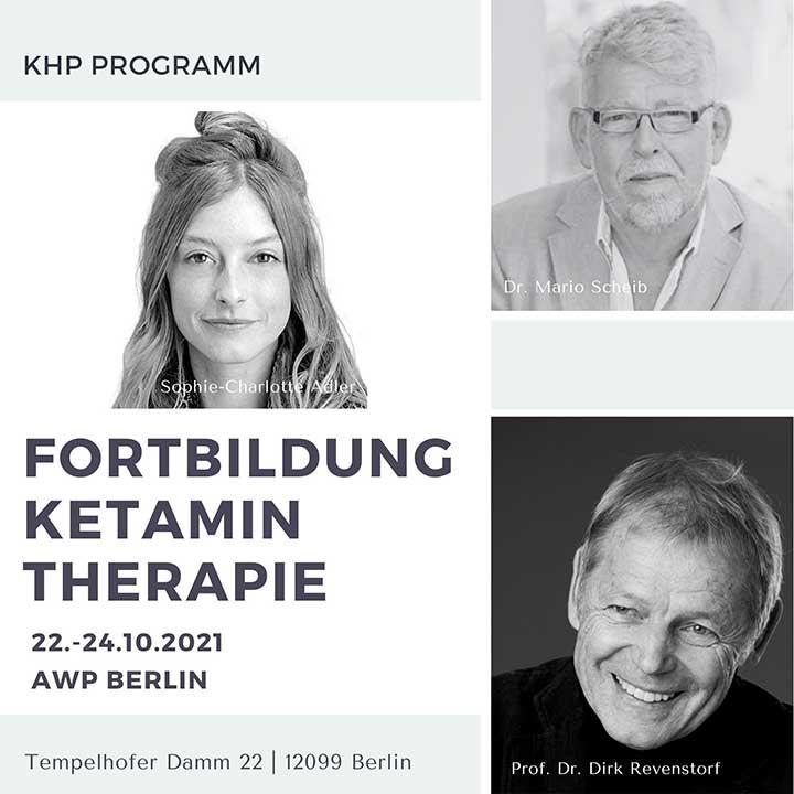 Fortbildung Ketamintherapie für ärzte